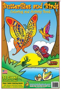 ButterfliesandBirdsColoringBook