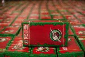 Christmas Child Boxes.New Life Alliance Church Operation Christmas Child New